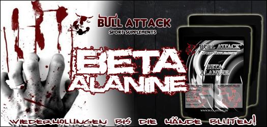 Bull-Attack Beta-Alanin zum Muskelaufbau und mehr!